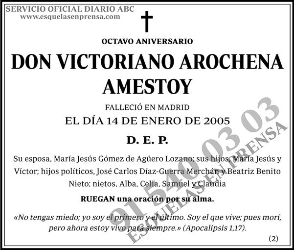 Victoriano Arochena Amestoy
